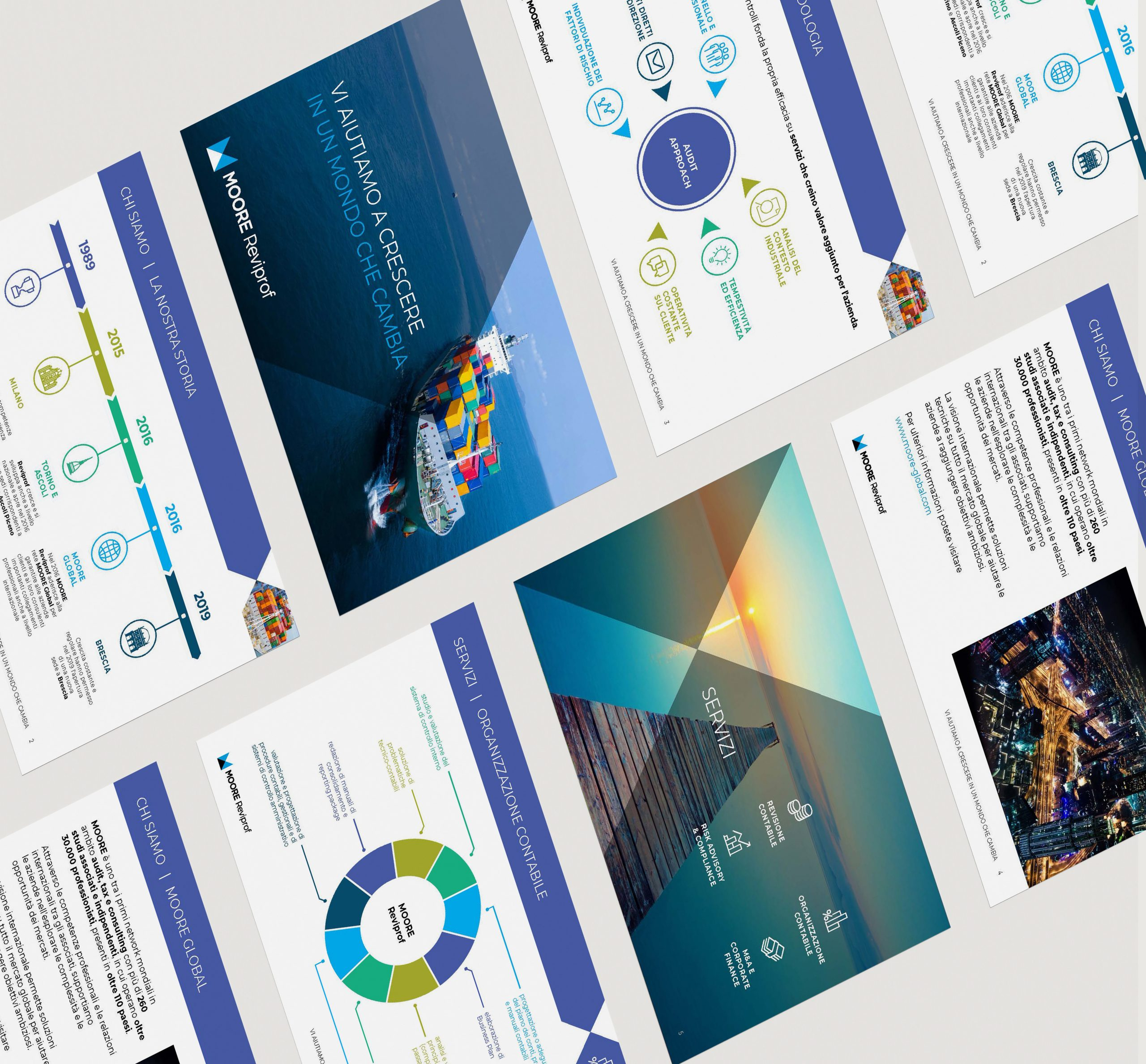A4 Paper Set Mockup by Anthony Boyd Graphics